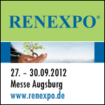 13. Internationale Energiemesse RENEXPO